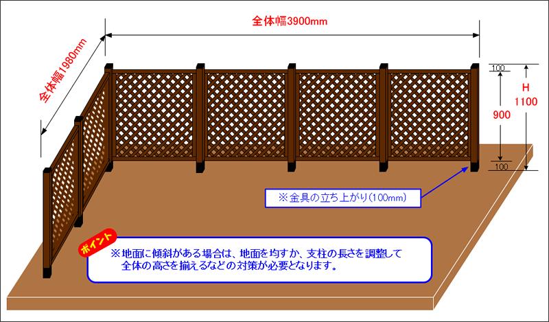 ドッグランイメージ図